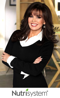 lose weight with nutrisystem marie osmond